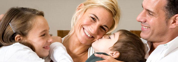 Chiropractic Downers Grove IL Happy Family