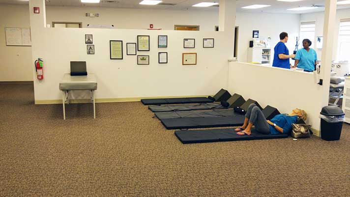 Chiropractic Downers Grove IL Waiting Area