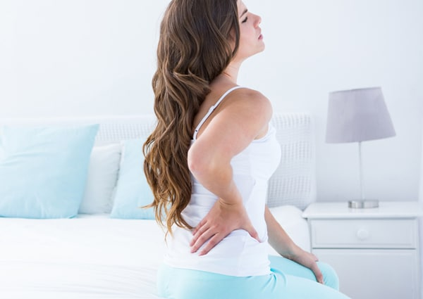 Chiropractic Downers Grove IL Woman Back Pain